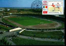 Rumänien 4194 Fußballweltmeisterschaft 1 MK Used Gestempelt - Maximumkarten (MC)