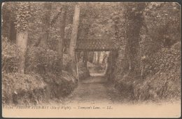 Tennyson's Lane, Freshwater Bay, Isle Of Wight, C.1905-10 - Lévy Postcard LL12 - England
