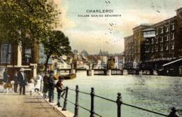 BELGIQUE - HAINAUT - CHARLEROI - Ecluse, Quai Du Déversoir. - Charleroi