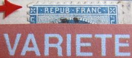 R1861/705 - CERES N°60A (sur Fragment) - GC 456 : BESANCON (Doubs) - VARIETE ☛ FILET NORD BRISE A L'ANGLE N/O - 1871-1875 Cérès