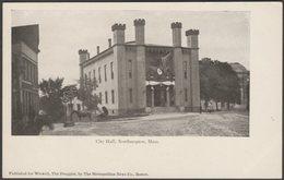 City Hall, Northampton, Massachusetts, C.1905 - Wiswell U/B Postcard - Northampton