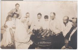 Russia Russie, Leo Lev Nikolayevich Tolstoy Author Writer, Chess, Family Photography - Russie