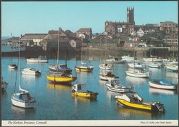 The Harbour, Penzance, Cornwall, C.1980 - John Hinde Postcard - England