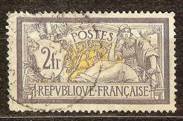 EXTRA MERSON N°122 2F Violet & Jaune Oblitéré Cachet à Date Cote 90€ PAS AMINCI - 1900-27 Merson