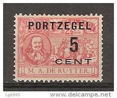 NVPH Nederland Netherlands Pays Bas Niederlande Port 35 MLH ; Port Postage Due Timbre-taxe Postmarke Sellos De Correos - Strafportzegels