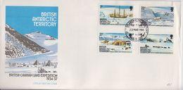 British Antarctic Territory (BAT) 1985 British Grahamland Expedition 4v FDC (F7410) - FDC
