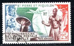 St Pierre Et Miquelon  - 1949 - Union Postale Universelle - PA 21  - Oblit - Used - Airmail
