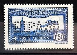 RARE PA N°6c 1F50 Outremer Perforé E.I.P.A.30 NEUF(*) Coté + 580 Euro (REPRO) - 1927-1959 Neufs
