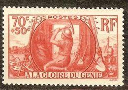 SUPERBE GENIE MILITAIRE N°423 NEUF SANS CHARNIERE Cote 16 Euro PAS AMINCI - Unused Stamps