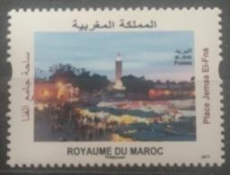 Morocco 2017 MNH Stamp - Mosque El-Fna - Morocco (1956-...)