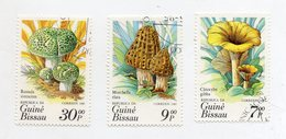 GUINEA BISSAU - 1985 - Lotto 3 Francobolli Tematica Funghi - Usati - (FDC11555) - Guinea-Bissau