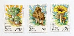 GUINEA BISSAU - 1985 - Lotto 3 Francobolli Tematica Funghi - Usati - (FDC11555) - Funghi