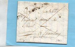 """Linéaire """"St JEAN DE MORIENNE"""",Port Payé,L.A.C. Du 10/9/23 Pour Chambery. - 1801-1848: Voorlopers XIX"""