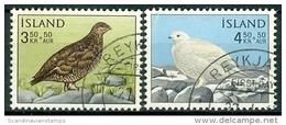 IJsland 1965 Sneeuwhoenders Serie GB-USED. - 1944-... Republik