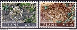 IJsland 1967 Vogelnesten Serie GB-USED. - 1944-... Republik