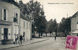 45  PUISEAUX   ROUTE DE MONTARGIS - Puiseaux