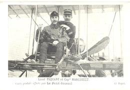 Lieutenant Féquant Et Capitaine Marconnet. - Aviateurs