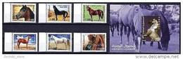 Q23 YEMEN 2009 YEMENI HORSES MNH Set + S/S Animals - Yemen