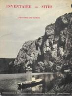 Inventaire Des Sites. Province De Namur. Tome VII. J. Lambinon. Région Wallonne. - Cultuur