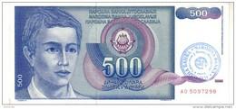 Bosnia P.1 500 Dinars 1990 Au - Bosnia Erzegovina