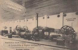 Exposition Bruxelles 1910,Système Lentz ,locomotive à Vapeur Surchauffée( Heinrich Lanz Mannheim ) - Expositions Universelles