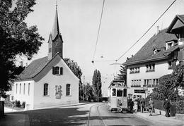 Zürich. Alte Kirche Fluntern Um 1939 - Verein Tram-Museum Zürich (Carte 10 X 15 Cm) - ZH Zurich