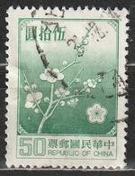 Taiwan (Repubblica Della Cina) National Flower - Alberi | Fiori | Piante (Flora) - 1945-... Repubblica Di Cina