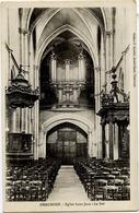 52 CHAUMONT - Église Saint-Jean - La Nef - Les ORGUES - Chaumont