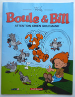 BD PUBLICITAIRE BOULE ET BILL ATTENTION CHIEN GOURMAND MOD8 2001 - Gaston