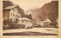 74 CLUSES ENTREE DE LA GORGE - VOITURES LL - Cluses