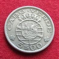 Cape Verde 5 Escudo 1968  Cabo Verde Wºº - Cape Verde