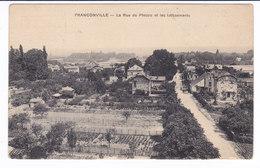 FRANCONVILLE  Rue Du Plessis Et Les Lotissements - Franconville