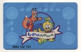 Game Card Playcard Igroland (Gameland) Network Of Children's Entertainment Complexes UKRAINE - Andere Sammlungen