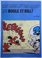 BD PUBLICITAIRE BOULE ET BILL LES MEILLEURS GAGS CHEVRON 1975 - Gaston
