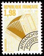 FGM - France (1992) - Timbre Préoblitéré : Instrument De Musique : Accordéon / Accordion. Music. Neuf / MNH. N°214. - 1989-....