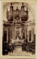34 SAINT-PONS-DE-THOMIÈRES - Choeur De La Cathédrale - Les ORGUES - Saint-Pons-de-Thomières