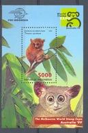 Mwe1969 FAUNA AAP APEN ZOOGDIEREN MONKEYS MAMMALS APES AFFEN SINGES INDONESIA 1999 PF/MNH - Apen