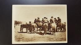 Kyrgyzstan FRUNZE  (Bishkek) - Kyrgyz People At Horses  - 1930s - Kyrgyzstan