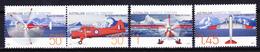 AAT 2005 Australia Antarctic Vintage Aircrafts (Yv 161 To 164 ) MNH - Vols Polaires
