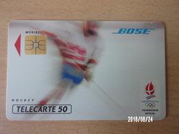 F213 Bose Hockey Sur Glace 50U S03 - Jeux Olympiques