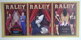 1 FLYERS PUBLICITAIRE CIRQUE RALUY LEGACY ESPAGNE CLOWN MAGIE - Publicités