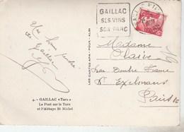 GANDON 15F SUR CPSM GAILLAC DAGUIN SES VINS SON PARC 24/2/50 -                       TDA106 - 1921-1960: Modern Period