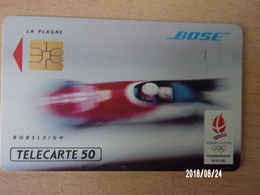 F218 Bose Bobsleigh 50U S03 - Jeux Olympiques