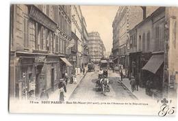 CPA _ Le Tout Paris _ Rue Saint Maur _ Etat Superbe - District 11