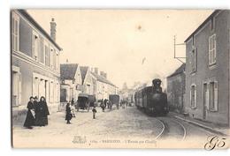 CPA _ Barbizon _ Tramway à L'entrée Par Chailly _ Etat Superbe - Barbizon
