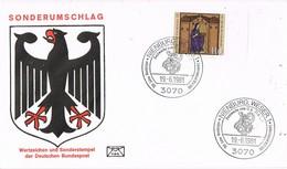 29708. Carta NIENBURG Wesser (Alemania Federal) 1981. 150 Jahre Nienburger - [7] República Federal