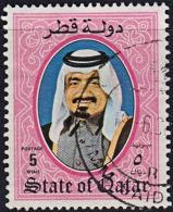 A1143 QATAR 1984,  SG 772  Shaikh Khalifa, Used - Qatar