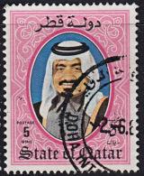 A1175 QATAR 1984,  SG 772  Shaikh Khalifa, Used - Qatar