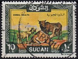 A1215 SUDAN 1991,  SG 488   10LS  Goat, Ass, Camel,  Used - Sudan (1954-...)