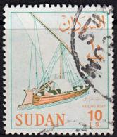 F0029 SUDAN 1962, SG 199  LS10  Sailing Boat,  Used - Sudan (1954-...)